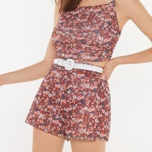 Nasty Gal Shorts - Nasty Gal never worn co ord set size 4